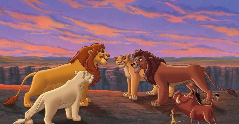 Lion King 2 Simba S Pride Dvd Review Movie Metropolis